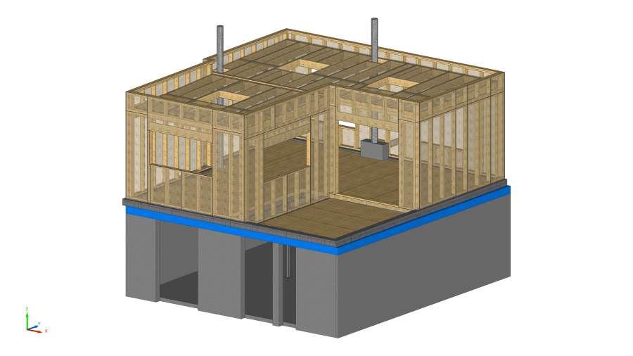 Tradicad bureau d 39 tudes structures bois nos r f rences for Bureau de change paris 13 avenue d ivry